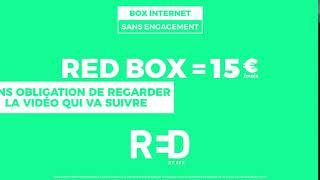 PUB RED BY SRF RED BOX 15 € 2018 HQ Musique
